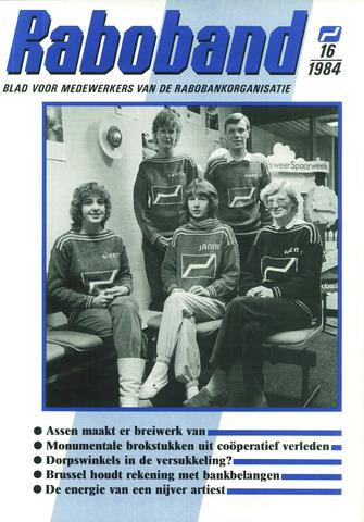 blad 'Raboband' 1984-11-28