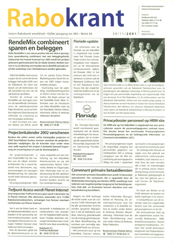 Rabokrant 2001-11-30
