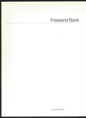 Jaarverslagen Friesland Bank 1991