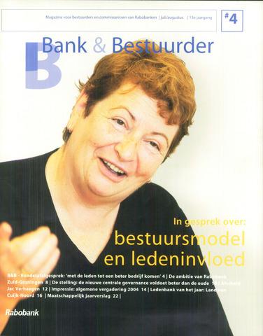 blad 'Bank & Bestuurder' 2004-07-01