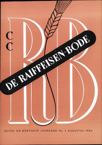 blad 'De Raiffeisen-bode' (CCRB) 1954-08-01