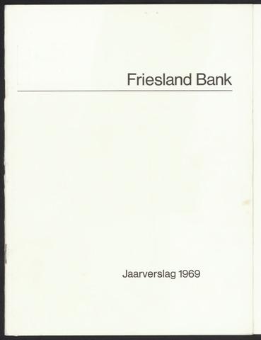 Jaarverslagen Friesland Bank 1969