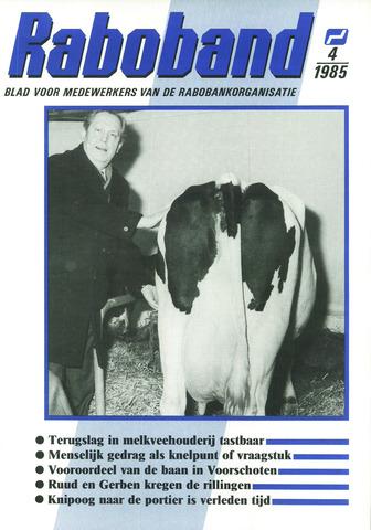blad 'Raboband' 1985-03-20