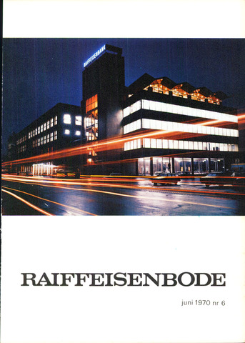 blad 'De Raiffeisen-bode' (CCRB) 1970-06-01