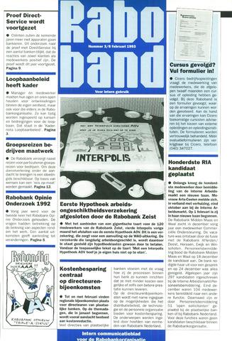 blad 'Raboband' 1993-02-08