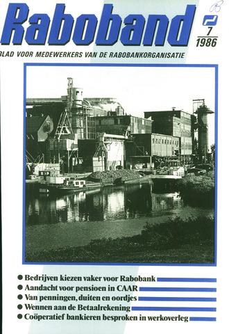 blad 'Raboband' 1986-05-21