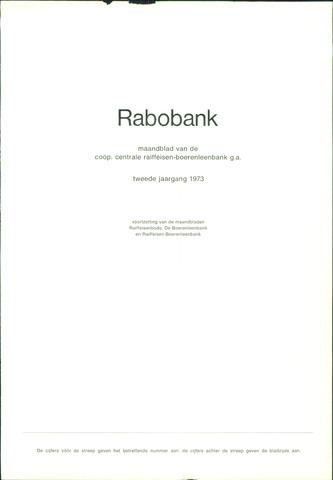 blad 'Rabobank' 1973-01-01