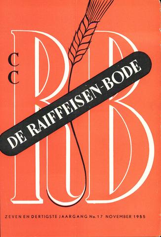 blad 'De Raiffeisen-bode' (CCRB) 1955-11-01