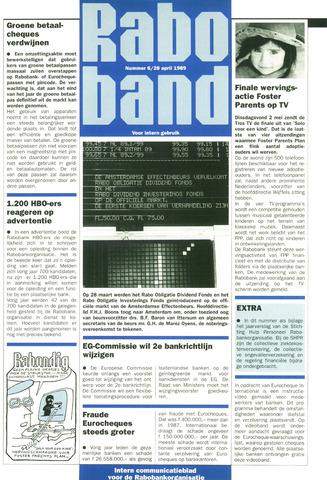 blad 'Raboband' 1989-04-28