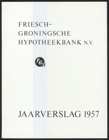 Jaarverslagen Friesch-Groningsche Hypotheekbank / FGH Bank 1957