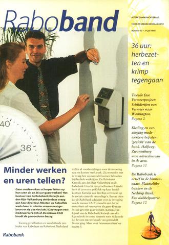 blad 'Raboband' 1995-07-31