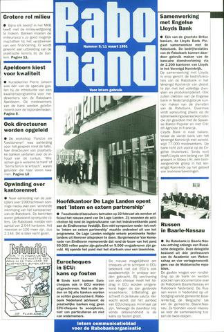 blad 'Raboband' 1991-03-11