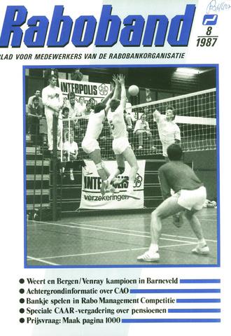 blad 'Raboband' 1987-06-10