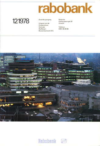 blad 'Rabobank' 1978-12-01