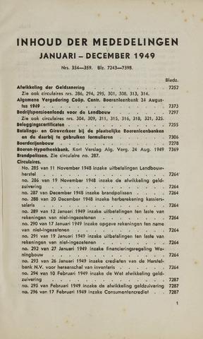 blad 'Maandelijkse Mededelingen' (CCB) 1949-01-01
