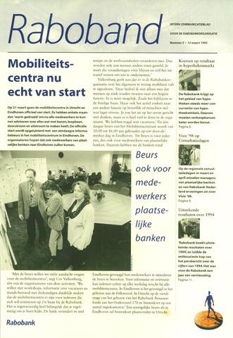 blad 'Raboband' 1995-03-13