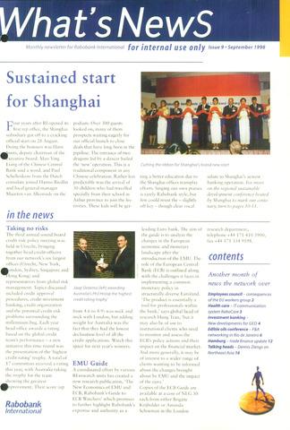 blad 'What's news' (EN) 1998-09-01