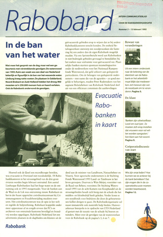 blad 'Raboband' 1995-02-13