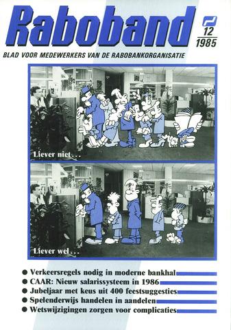 blad 'Raboband' 1985-09-04