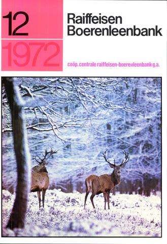blad 'Raiffeisen Boerenleenbank' 1972-12-01