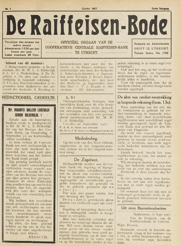 blad 'De Raiffeisen-bode' (CCRB) 1917-10-01
