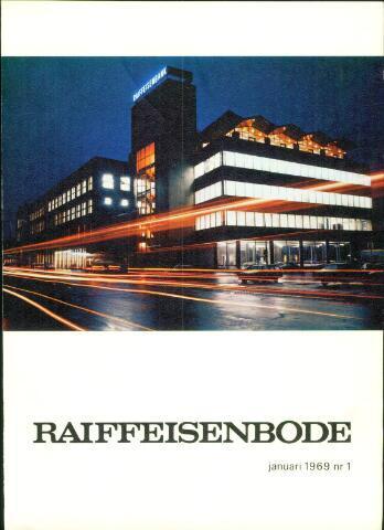blad 'De Raiffeisen-bode' (CCRB) 1969