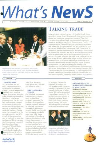blad 'What's news' (EN) 1997-11-01