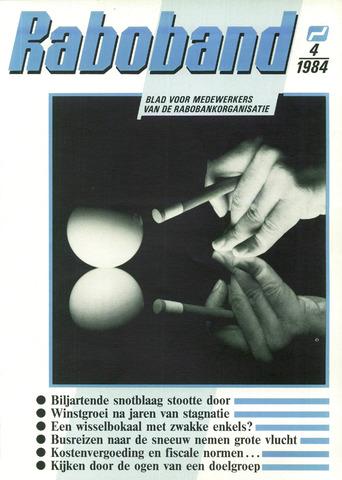 blad 'Raboband' 1984-03-21