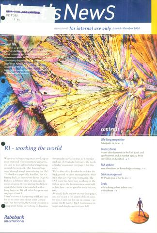 blad 'What's news' (EN) 2000-10-01