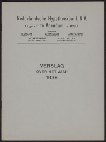 Jaarverslagen Nederlandsche Hypotheekbank 1938
