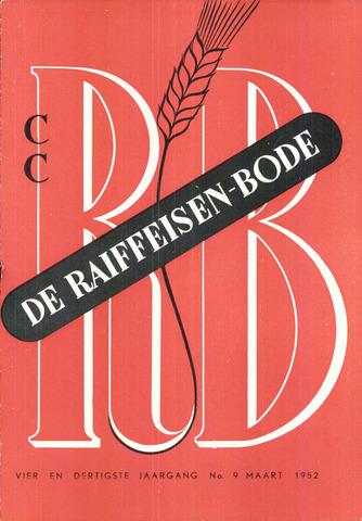 blad 'De Raiffeisen-bode' (CCRB) 1952-03-01