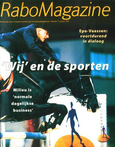 blad 'RaboMagazine' 1998