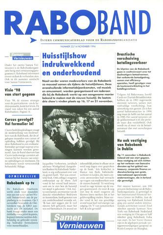 blad 'Raboband' 1994-11-14