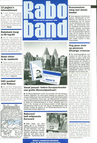 blad 'Raboband' 1990-09-21