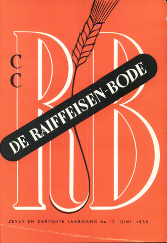blad 'De Raiffeisen-bode' (CCRB) 1955-06-01