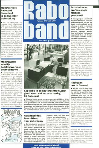 blad 'Raboband' 1990-04-20