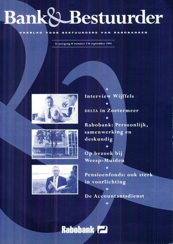 blad 'Bank & Bestuurder' 1994-09-01