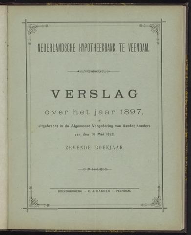 Jaarverslagen Nederlandsche Hypotheekbank 1897