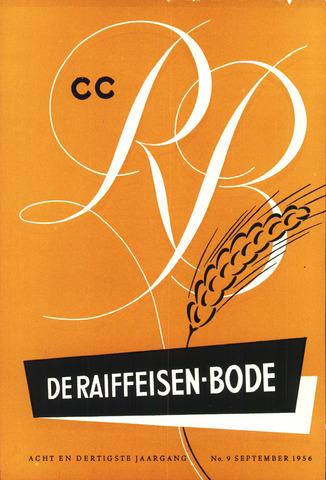 blad 'De Raiffeisen-bode' (CCRB) 1956-09-01