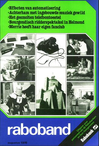 blad 'Raboband' 1978-08-01