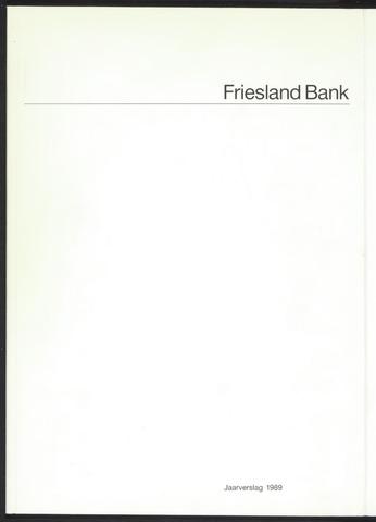 Jaarverslagen Friesland Bank 1989