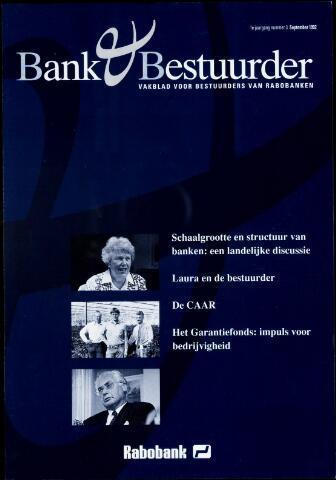 blad 'Bank & Bestuurder' 1992-09-01