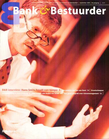 blad 'Bank & Bestuurder' 2000-09-01