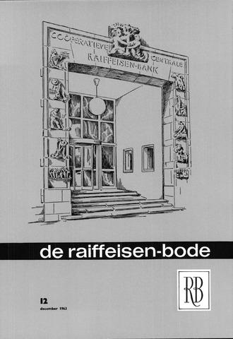 blad 'De Raiffeisen-bode' (CCRB) 1963-12-01