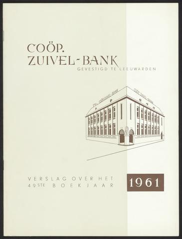 Jaarverslagen Friesland Bank 1961