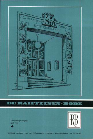blad 'De Raiffeisen-bode' (CCRB) 1961-04-01