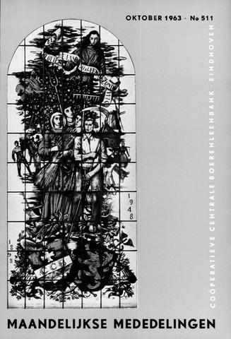 blad 'Maandelijkse Mededelingen' (CCB) 1963-10-01