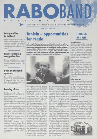 blad 'Raboband International' (EN) 1994-04-25
