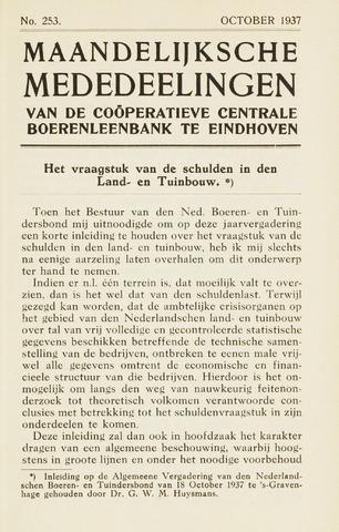 blad 'Maandelijkse Mededelingen' (CCB) 1937-10-01