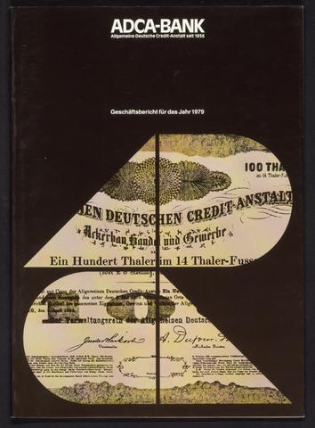 Geschäftsberichte Allgemeine Deutsche Credit-Anstalt / ADCA Bank 1979-01-01